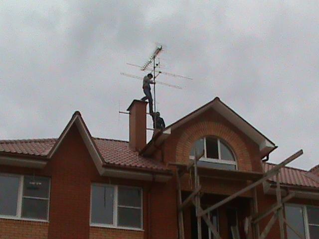 ремонт эфирных телевизионных антенн