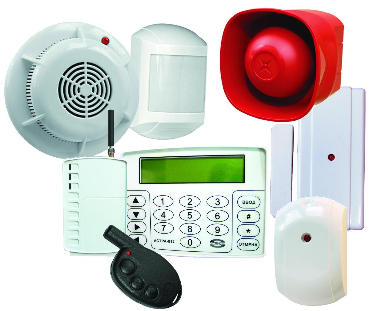системы контроля доступа охранной сигнализации